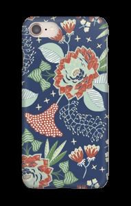 Blue garden case IPhone 8