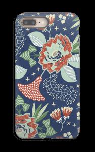 Fleurs mystiques Coque  IPhone 8 Plus tough