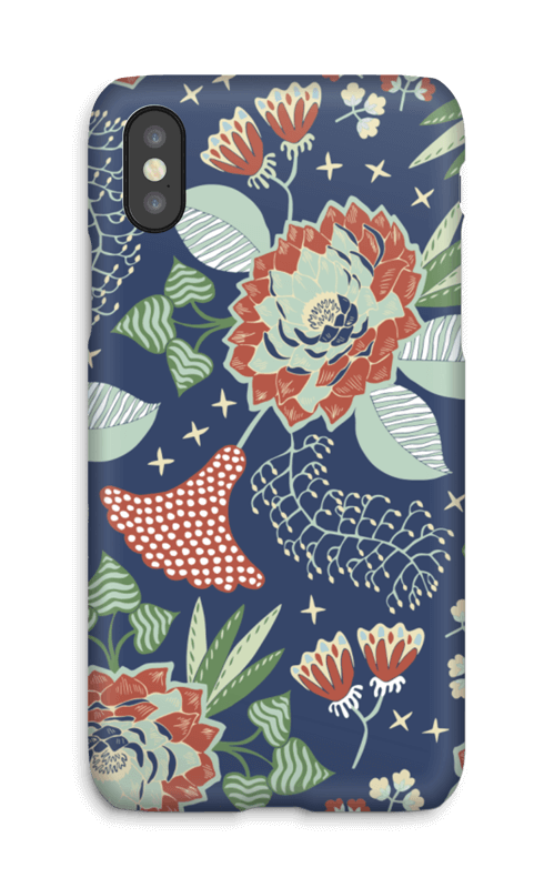 Fleurs mystiques Coque  IPhone X