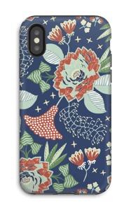 Mystical Flowers skal IPhone X tough