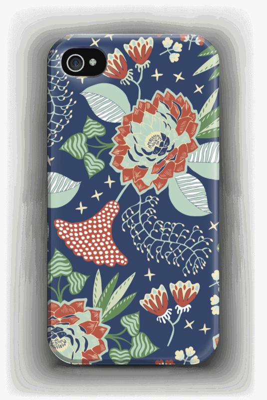 Fleurs mystiques Coque  IPhone 4/4s