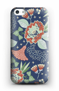 Mystical Flowers skal IPhone 5c