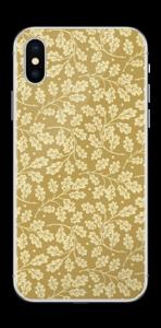 Feuilles de chêne Skin IPhone XS