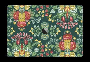"Jardin mystique Skin MacBook Pro 15"" 2016-"