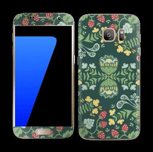 Jardin mystique Skin Galaxy S7