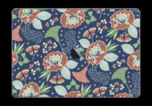 "Fleurs mystiques Skin MacBook Pro 15"" 2016-"