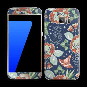 Fleurs mystiques Skin Galaxy S7