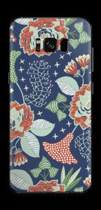 Fleurs mystiques Skin Galaxy S8 Plus