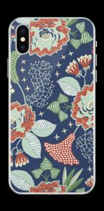 Fleurs mystiques Skin IPhone XS
