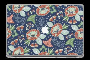 "Fleurs mystiques Skin MacBook Pro 17"" -2015"
