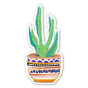 Potted Cactus sticker