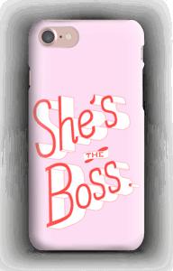 C'est ELLE le boss ! Coque  IPhone 7