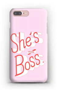She's the Boss case IPhone 7 Plus
