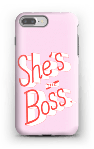 She's the Boss case IPhone 7 Plus tough