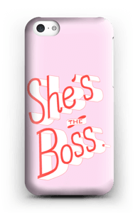 She's the Boss case IPhone 5c