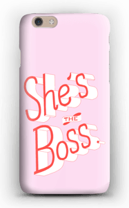 She's the Boss case IPhone 6