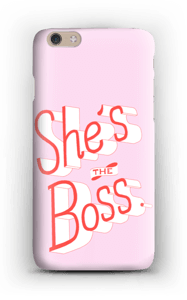 She's the Boss case IPhone 6 Plus