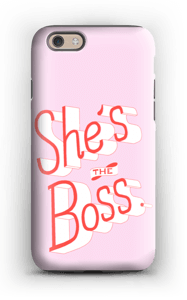 She's the Boss case IPhone 6s tough