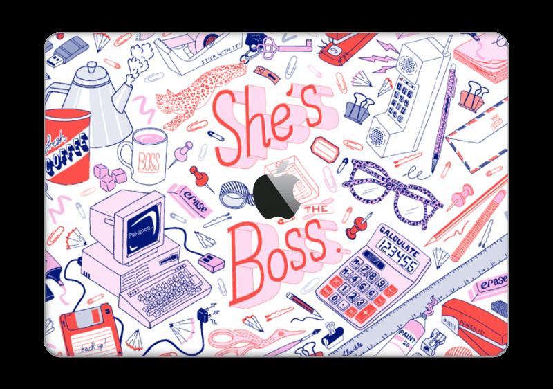 "Son bureau à ELLE Skin MacBook Pro 13"" 2016-"