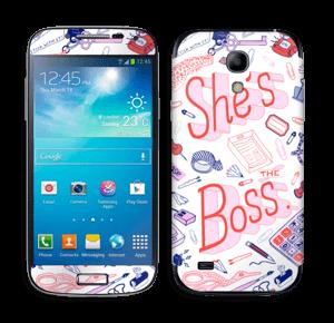 Her Office. Skin Galaxy S4 Mini