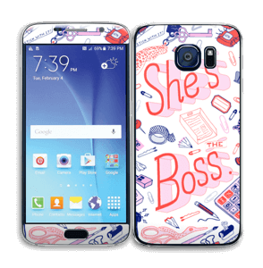 Her Office. Skin Galaxy S6
