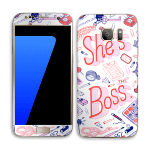 Her Office. Skin Galaxy S7