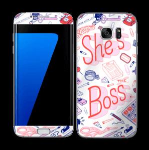 Her Office. Skin Galaxy S7 Edge