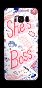 She's the Boss Skin Galaxy S8