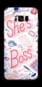 Son bureau à ELLE Skin Galaxy S8 Plus