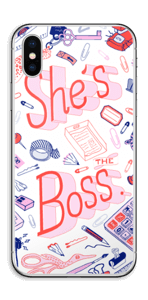 Her Office. Skin IPhone XS
