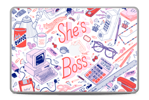 "Her Office. Skin MacBook Pro 17"" -2015"