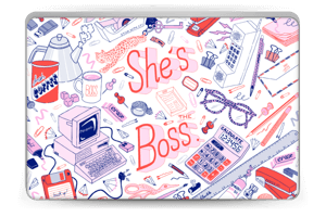 Her Office. Skin Laptop 15.6