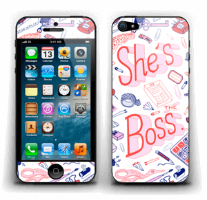 Her Office. Skin IPhone 5