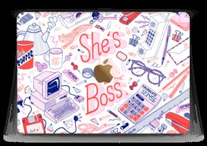 """Son bureau à ELLE Skin MacBook 12"""""""
