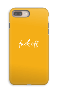 F**k off. case IPhone 8 Plus tough