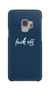 F**k off! case Galaxy S9
