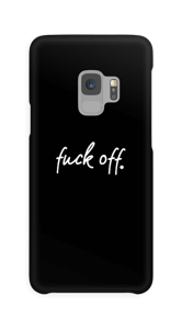 F**k off. case Galaxy S9
