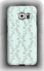 Små rosa deksel Galaxy S6 Edge