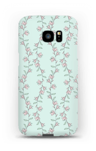 Små rosa deksel Galaxy S7 Edge