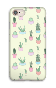 Pequeños Cactus funda IPhone 8