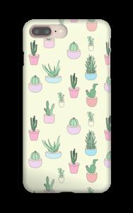 Pienet kaktukset kuoret IPhone 8 Plus