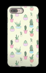 Pienet kaktukset kuoret IPhone 8 Plus tough