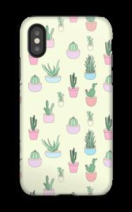 Pienet kaktukset kuoret IPhone X tough