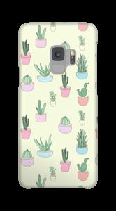 Pequeños Cactus funda Galaxy S9