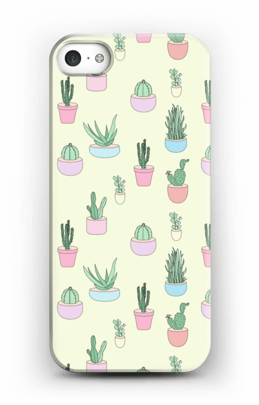 hot sale online 373a0 6f765 Cactus All Over - iPhone 5/5S case