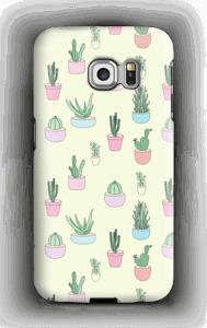 Små kaktuser deksel Galaxy S6 Edge