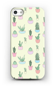 Cactus All Over case IPhone SE