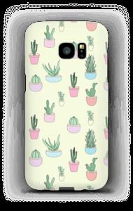 Små kaktuser deksel Galaxy S7 Edge