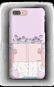 Blumen Buch Handyhülle IPhone 7 Plus