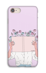 Book Of Flowers case IPhone 8